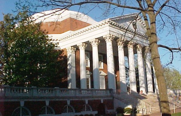 UVA Postpones Painting The Rotunda Roof Until The Fall
