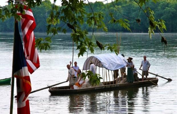 James River Batteaux Festival Comes To Scottsville