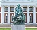 UVA Homer Statue  031308