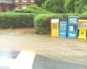 Flooding near Womens Center 051711