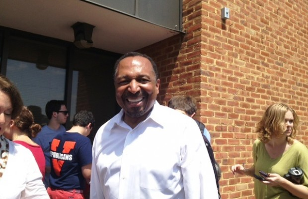 Jackson Brings Lieutenant Governor Campaign To Charlottesville