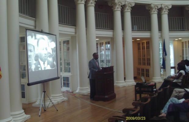 UVA Salutes 50th Anniversary Of March On Washington
