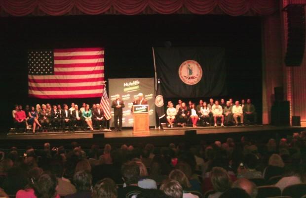 Clinton Rallies Local Democrats For McAuliffe