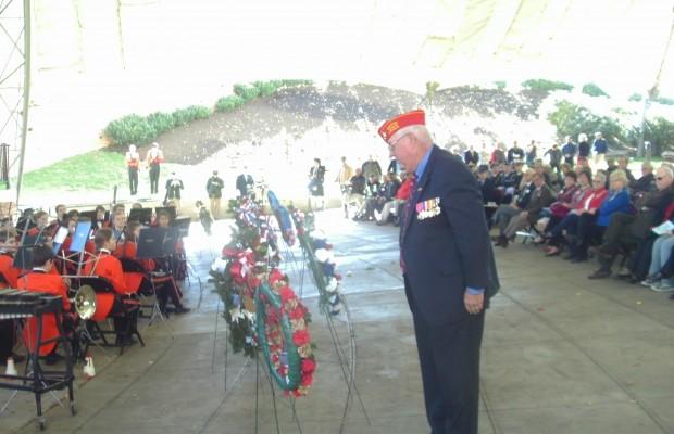 Area Residents Observe Veterans Day