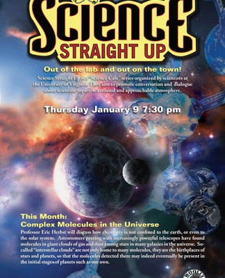 Science Straight Up – Complex Molecules in the Universe