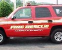 Albemarle Fire & Rescue Vehicle