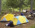 Camping (clipart)