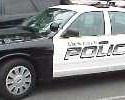 Charlottesville Police Car Black and White