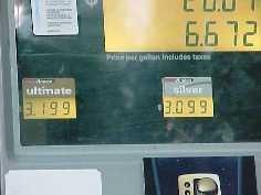 Gas Prices Creep Up Again