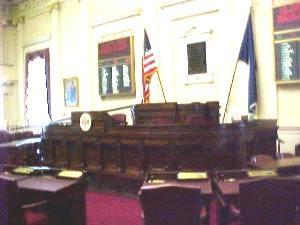 Puckett's Resignation Flips Control Of State Senate