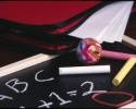 chalkboard school