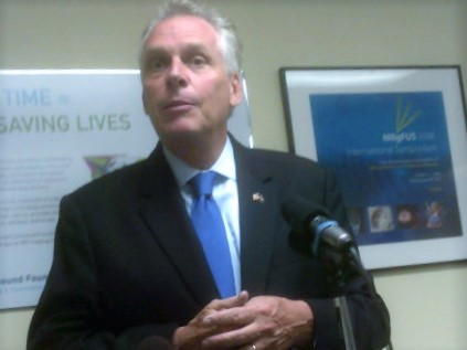 Gov. McAuliffe to make announcement regarding restoration of rights